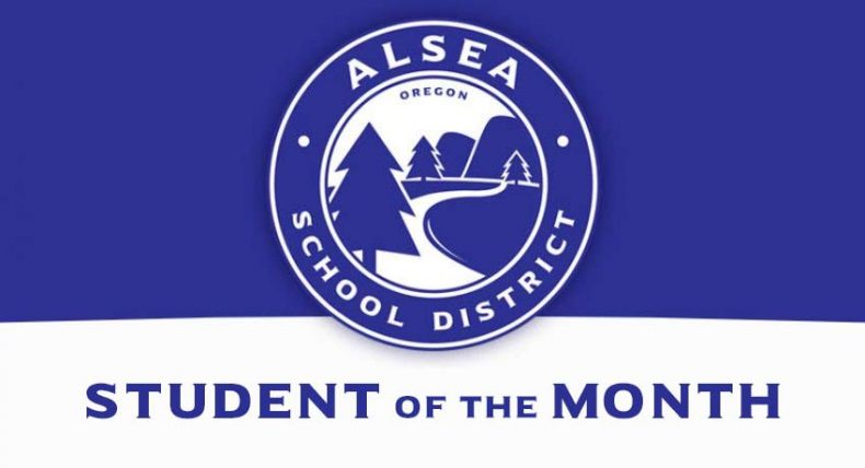 Student of the Month – January 2017